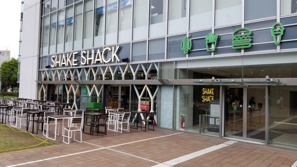 SHAKESHACK Shinjyuku Tokyo