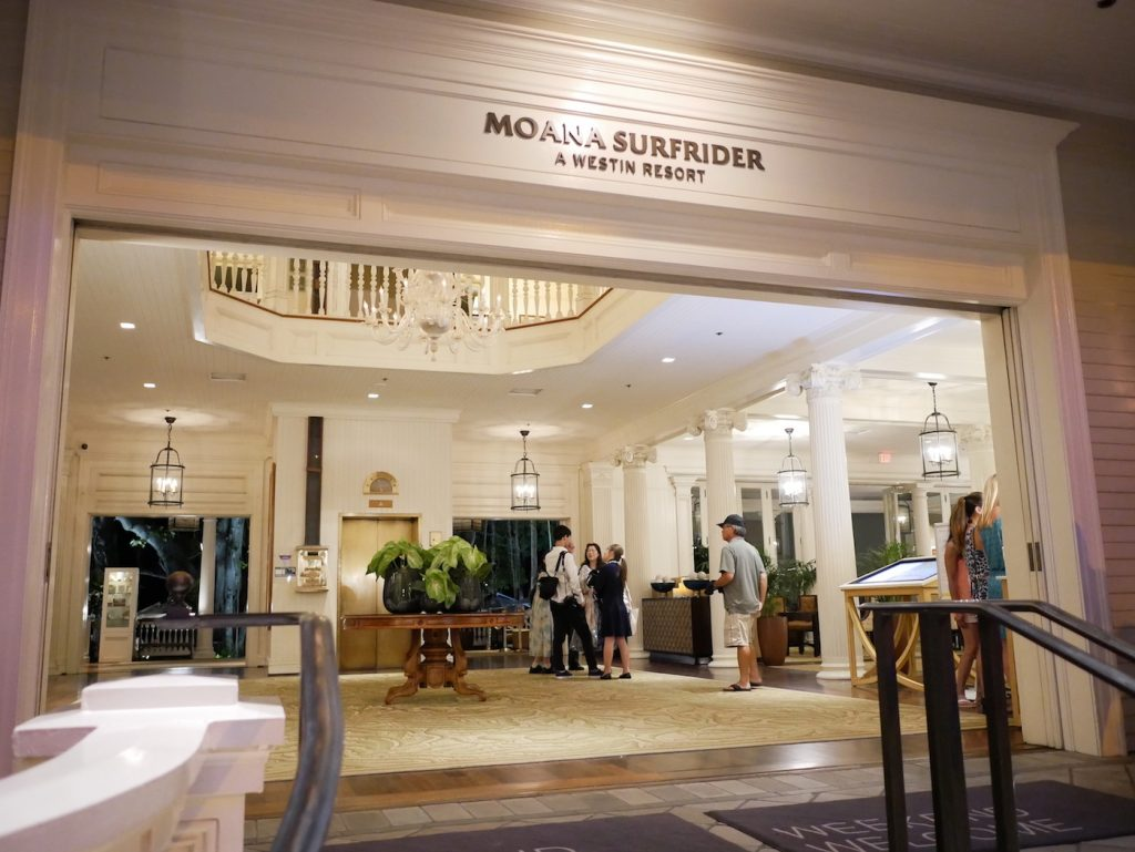 MOANA SURFRIDER A WESTIN RESORT&SPA