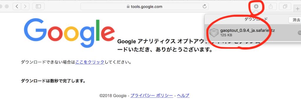 Safari Googleアナリティクス 大町俊輔