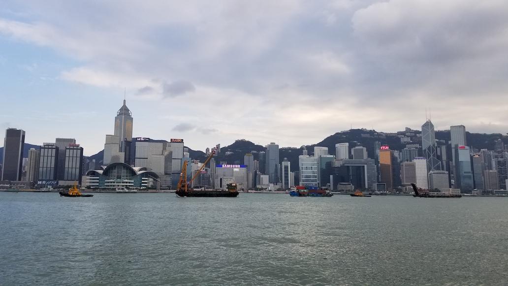 香港ウェブメディア構築合宿 大町俊輔 尖沙咀